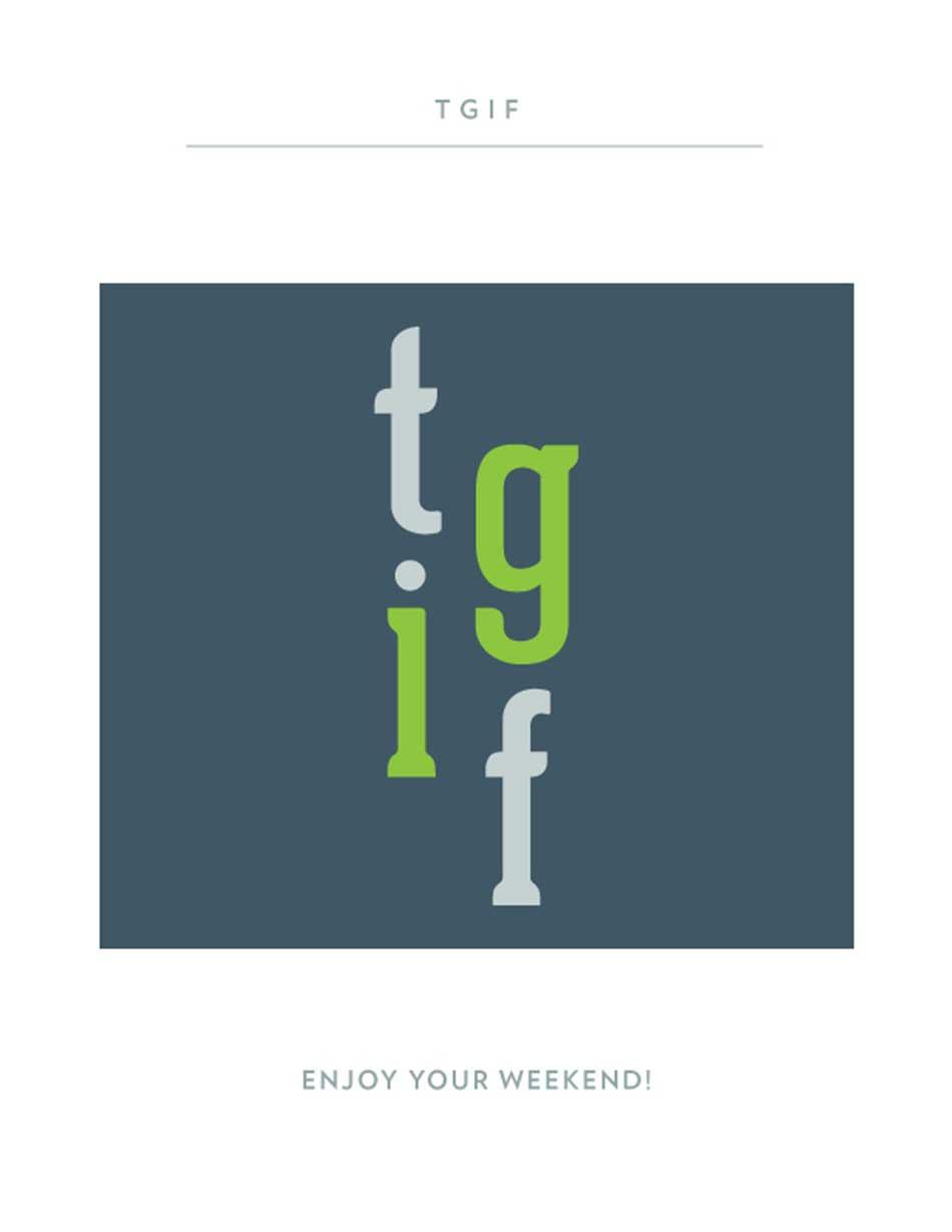 TGIF 7-19-13