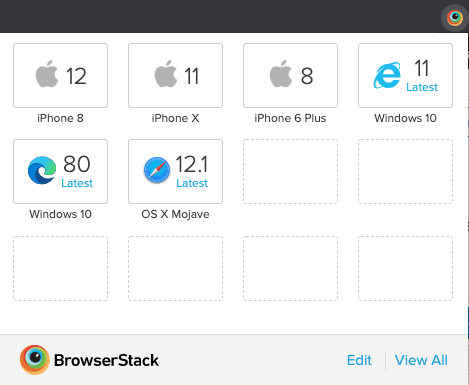 BrowserStack Quick Launch